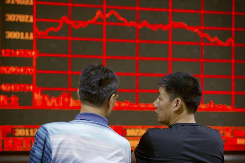 中國股市場整體市場風險偏好,已回升至2月底3月初海外疫情爆發前的水準。(AP)