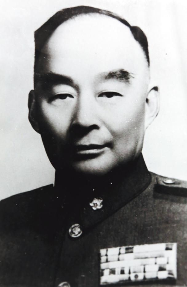 黃埔軍校7分校大家長胡宗南將軍。(圖片由作者提供)