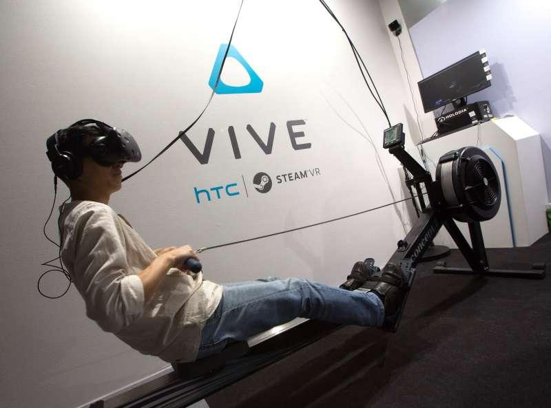全球智慧型手機大廠HTC,擁有世界首屈一指的VR虛擬實境技術。(新新聞資料照)