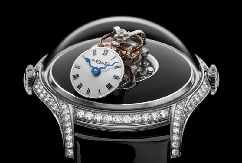 2019 日內瓦鐘錶大賞中獲得「最佳複雜女錶」的 LM FlyingT(圖 / Swiss Prestige 提供)