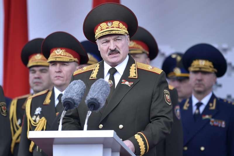 白俄羅斯(白羅斯)總統盧卡申科(AP)