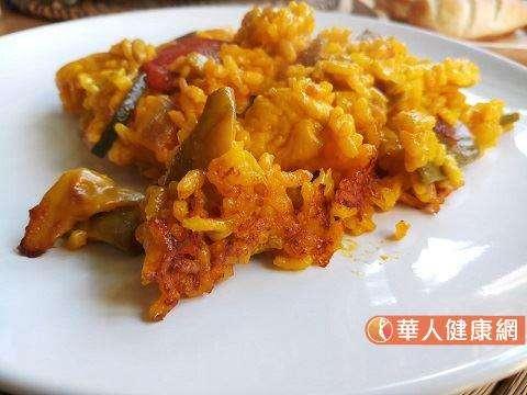 西班牙燉飯(圖/華人健康網提供)