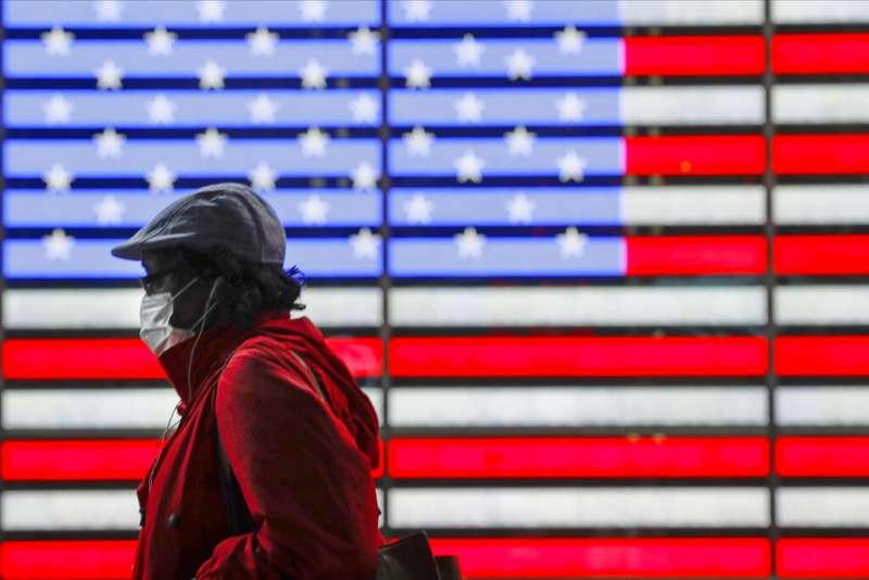 受新冠病毒肆虐的美國只剩7州失業率未創紀錄,難以再被稱為機遇之地。(AP)