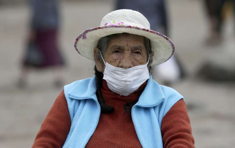 祕魯嚴密的防疫措施沒能阻止新冠肺炎疫情持續延燒,確診人數超過12萬。(AP)