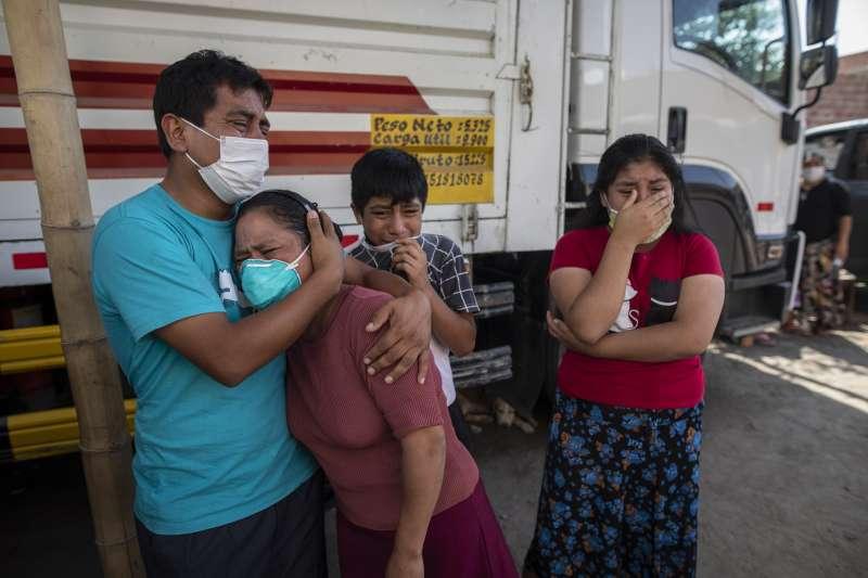 祕魯嚴密的防疫措施未能阻止新冠肺炎疫情持續延燒,確診人數超過12萬。(AP)