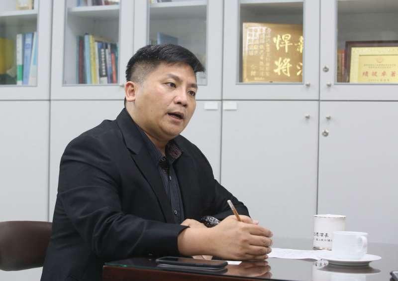 辭去檢察官到新北市政府,吳宗憲想替402萬市民謀福利。(柯承惠攝)