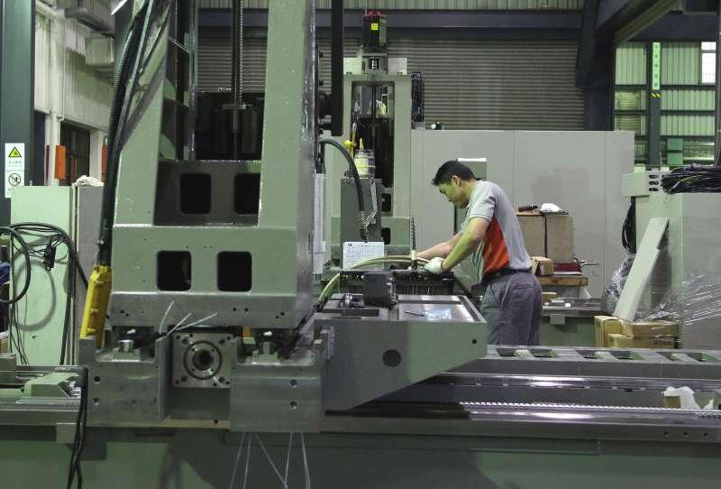 有7成的台灣精密機械、工具機及其零組件廠在中部設廠。(新新聞資料照)
