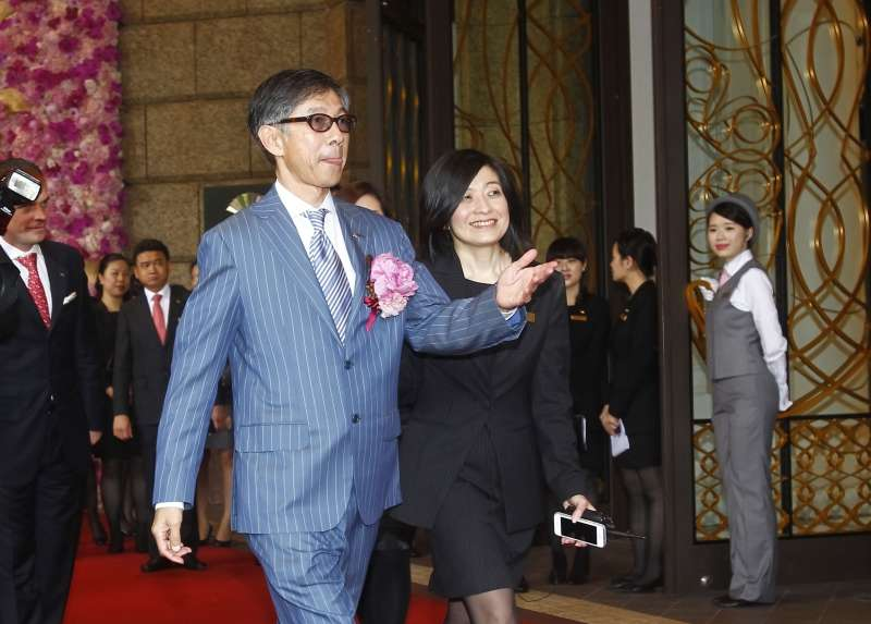 文華東方酒店的前身為中泰賓館,現由中泰賓館林家第3代林命群(圖左)經營。(新新聞資料照)