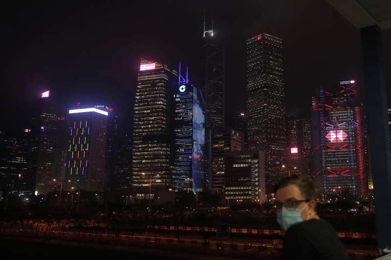 《香港國安法》引起國際強烈關注(AP)