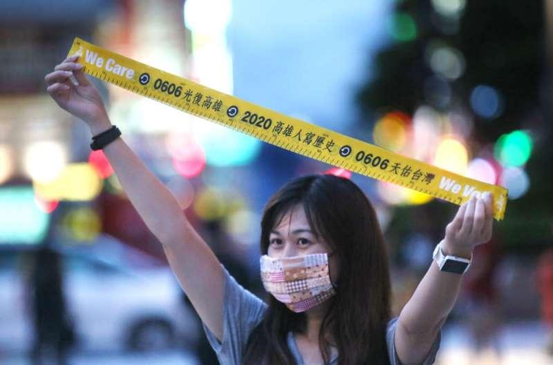 韓國瑜因選總統而大傷市民感情,中間選民及年輕選票大量流失。(柯承惠攝)