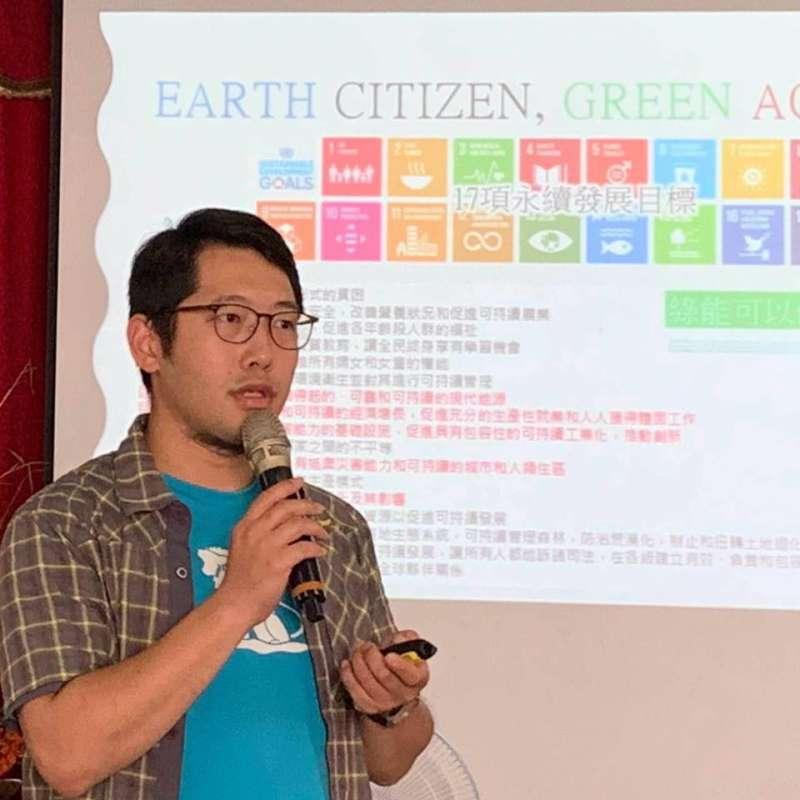 20200603-台灣地熱協會秘書長王守誠。(取自王守誠臉書)