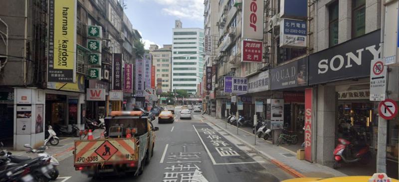 20200604-新中華路影音電器街。(取自GOOGLE MAPS 街景地圖)