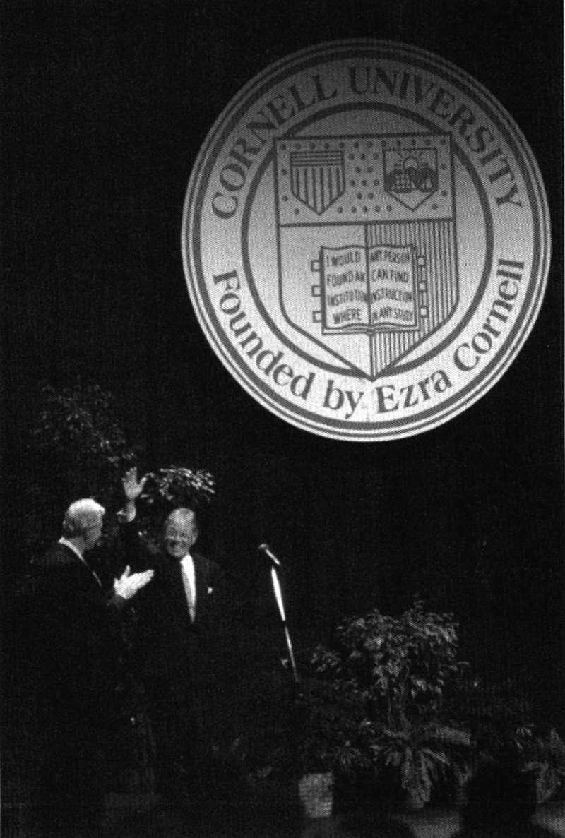 李登輝在康乃爾大學演說,激勵了許多當時的台灣人。(新新聞資料照)