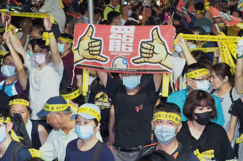 罷韓團體認為,不由政黨主導是罷韓行動成功的一大關鍵。(林瑞慶攝)