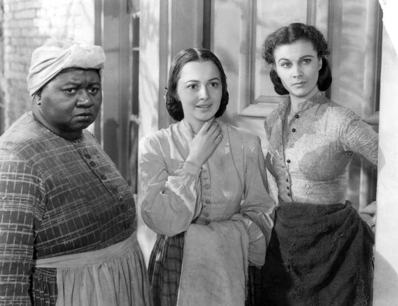 好萊塢經典名片《亂世佳人》被視為有美化蓄奴之嫌(維基百科公有領域)