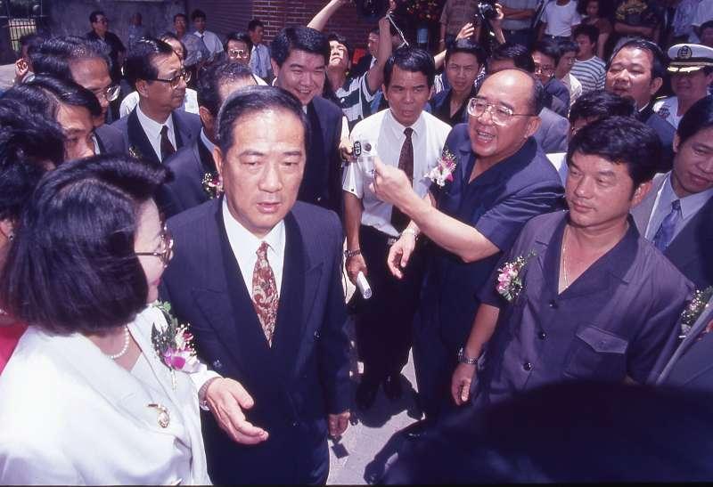 宋楚瑜這次辭職的境遇與以往迥然不同。(新新聞資料照)