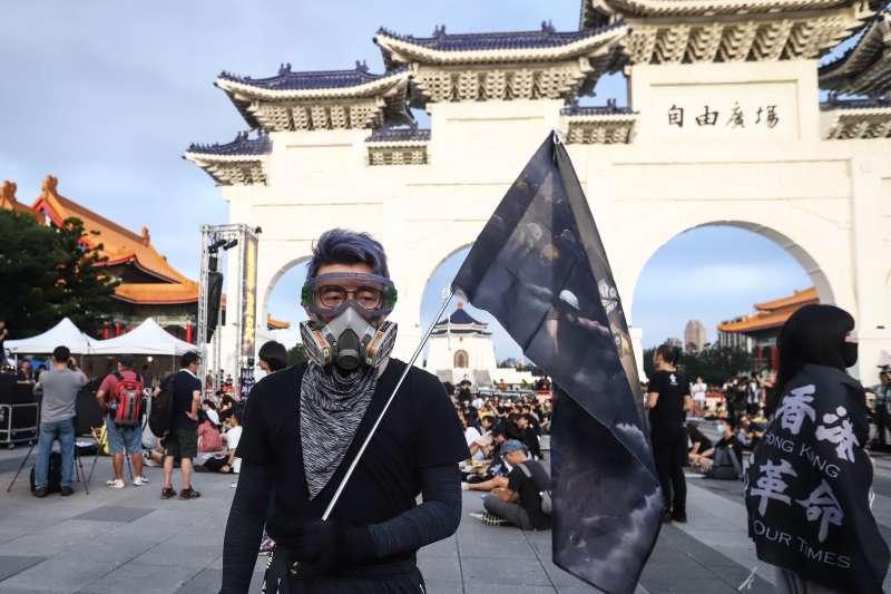 20200613-「抗爭未完,台港同行」反送中一週年晚會活動。(陳品佑攝)