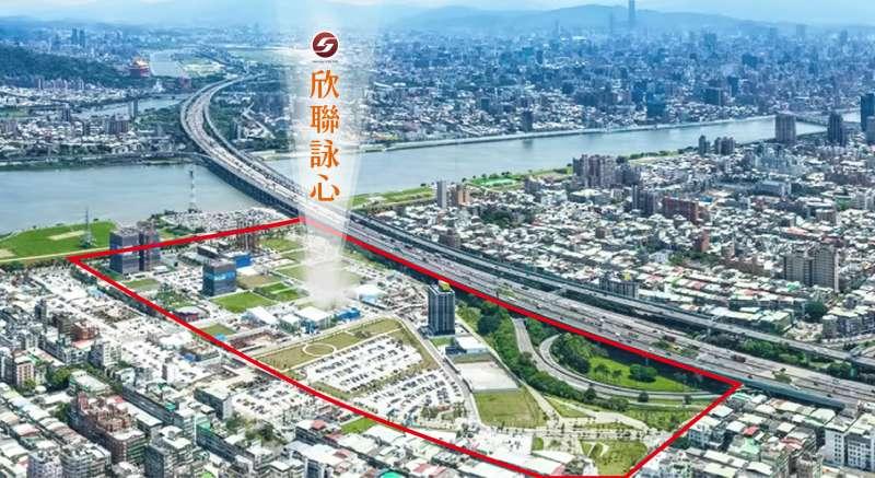 三重仁義重劃區鄰近環快、重陽橋、國道、捷運三重國小站,交通機能便利。(圖/富比士地產王提供)