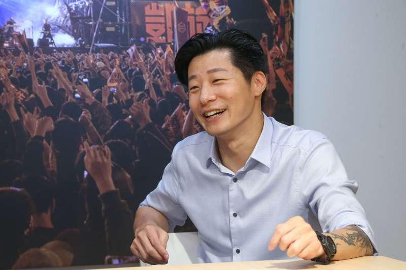 20200619-立法委員林昶佐、鬼島之音共同創辦人吳怡慈(Emily Y. Wu)專訪。(顏麟宇攝)