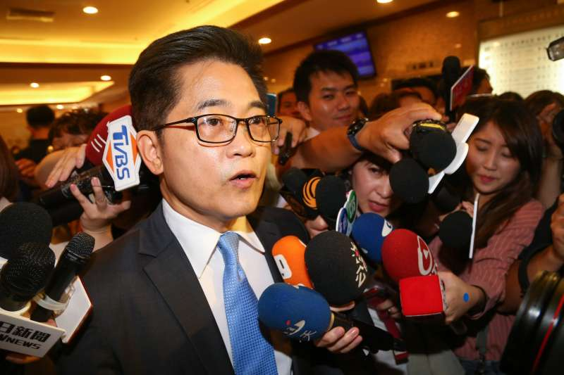 20200619-前台東縣長黃健庭19日針對被提名爭議出面說明。(顏麟宇攝)