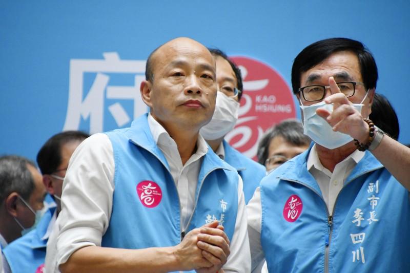 2020年6月6日,高雄市長韓國瑜遭選民罷免(AP)