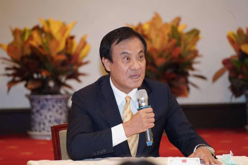 20200622-總統府22日舉行監察院第6屆監察委員被提名人介紹記者會,秘書長蘇嘉全主持。(盧逸峰攝)