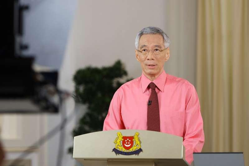 2020年6月23日,新加坡總理李顯龍宣布提前舉行國會大選。(AP)