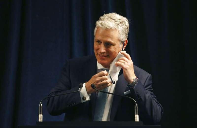 白宮國家安全顧問歐布萊恩(Robert O'Brien)。(美聯社)