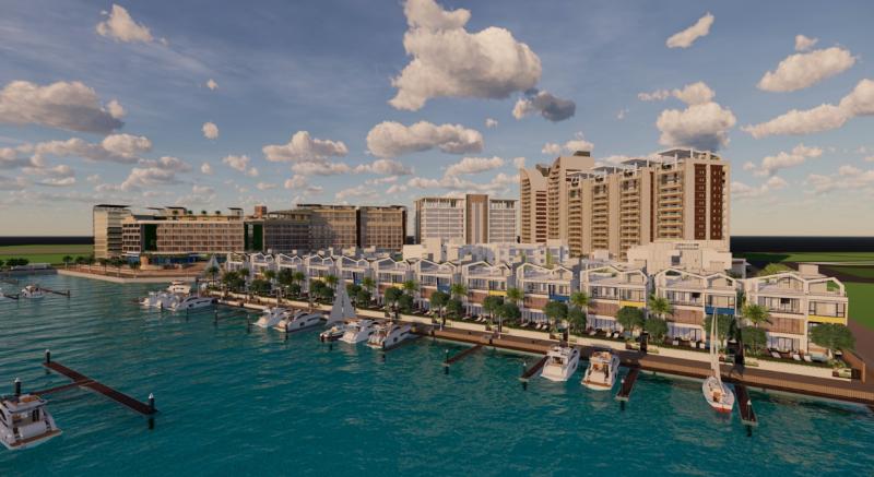 20200627-新力旺集團旗下的亞果遊艇,預計在安平遊艇觀光碼頭打造集團的「航母基地」。(取自亞果集團網站)