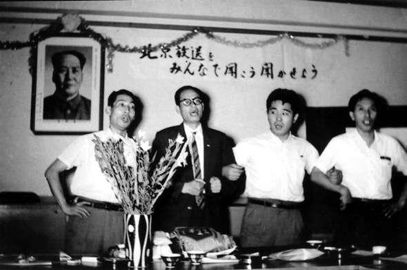 曾任中國政協委員的吳克泰(左二),說自己是李登輝加入共產黨的介紹人。(翻攝自網路)