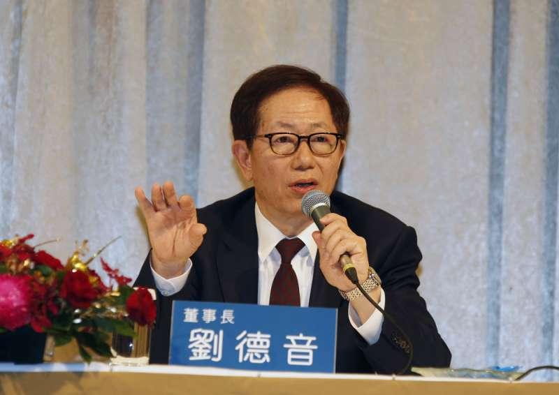 台積電董事長劉德音強調,到美國設廠絕對符合公司的利益。(郭晉瑋攝)