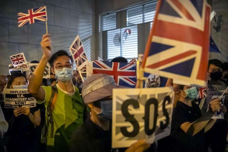 港版《國安法》恐讓關注香港情勢的外國人加強自我審查。(AP)