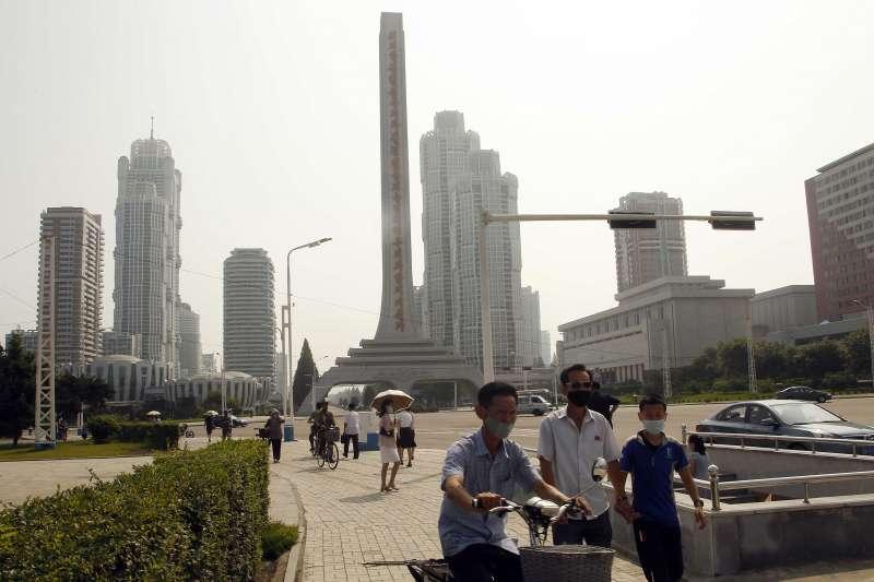 北韓疫情,北韓至今宣稱「0確診」,民眾生活似乎未受太大影響。(AP)