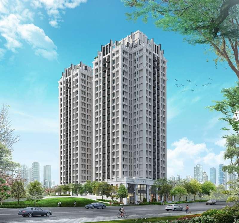 「寶睿博第」由深耕大新竹地區已逾12年的「太睿建設開發機構」建造。(圖/富比士地產王提供)