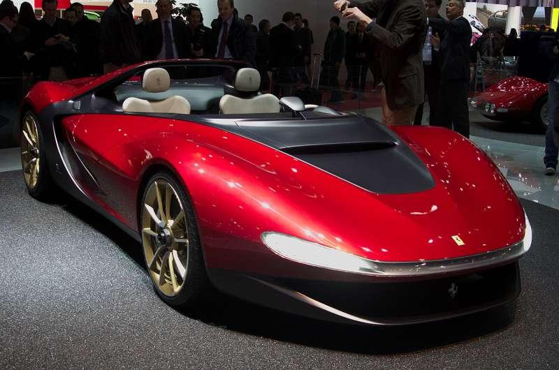 圖一、Ferrari Pininfarina Sergio,全球僅生產6輛。(圖取自維基百科)