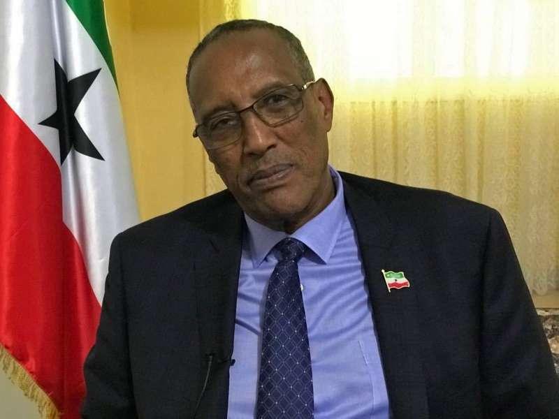 索馬利蘭總統阿布迪(資料照,AP)