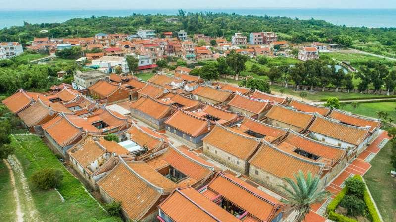 古色古香的傳統建築,同時也是保存的最完整的聚落。(圖/金門旅遊網)