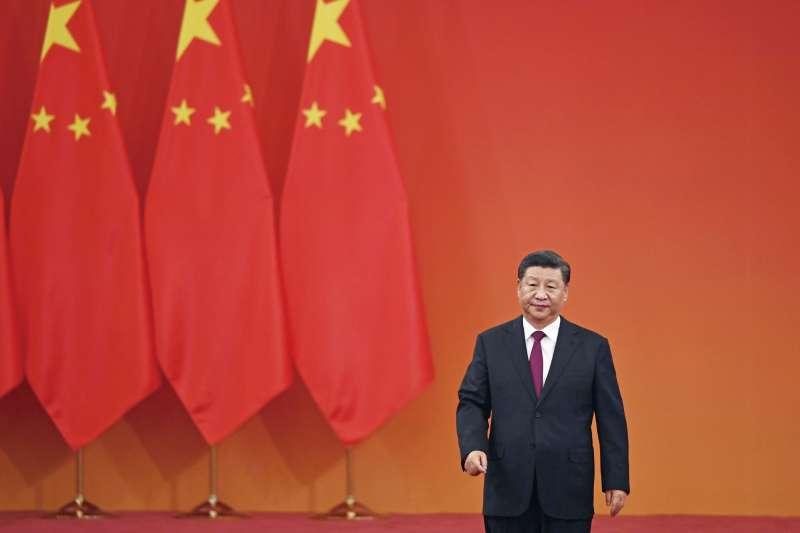 《港區國安法》在中國史上肯定會記上濃重的一筆,成為習近平新時代一個最黯黑的印記。(美聯社)