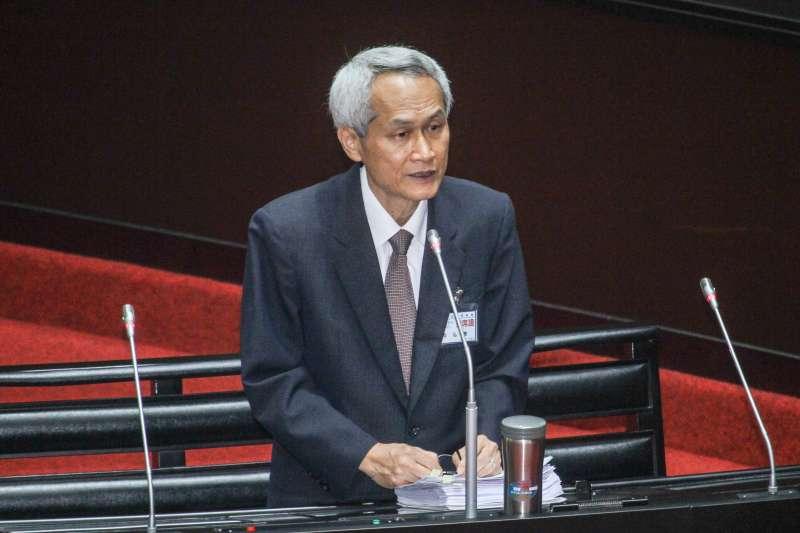 20200708-考試院副院長被提名人周弘憲至立院備詢。(蔡親傑攝)