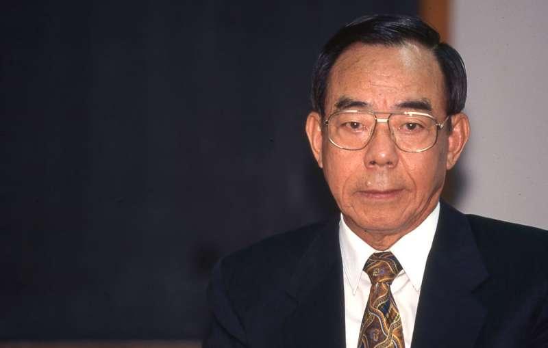 1995年台灣海峽飛彈危機期間,時任國安局局長殷宗文常常沒有回家。(新新聞資料照)