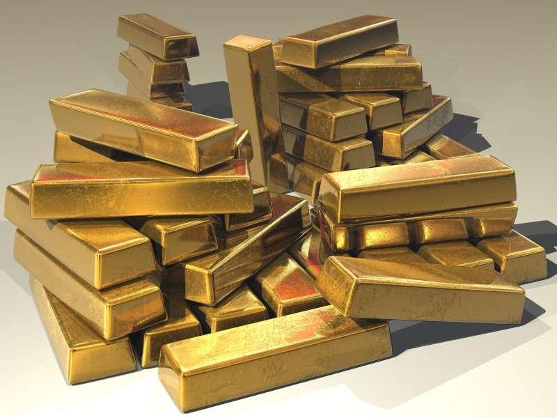 20200709-黃金,金塊,金子。(pixabay)