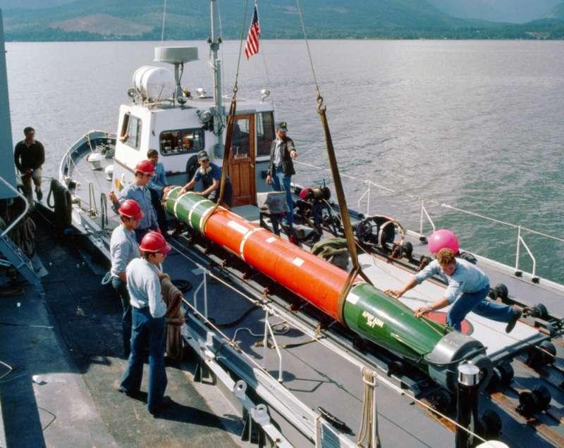 美國將售台18枚Mk48潛艦用魚雷,售價約逾52億新台幣。(翻攝自維基百科)
