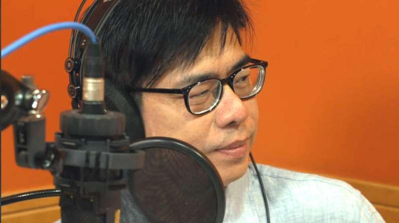 陳其邁在播客自爆年輕時曾經營地下電台。(翻攝youtube)