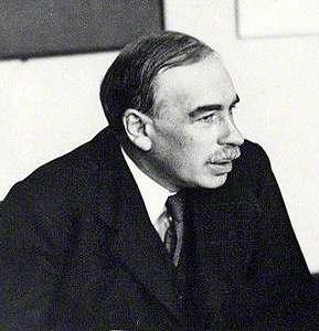 20200709-英國著名經濟學家約翰.梅納德.凱因斯(John Maynard Keynes)。(取自維基百科)