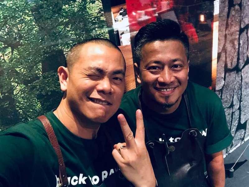 圖三、江振誠與彭天恩的餐廳堪稱全台最難訂。(圖/取自Raw FB官網)