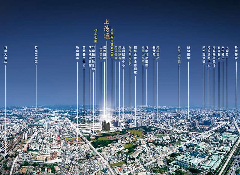 上德匯工學館空拍圖。(圖/富比士地產王提供)