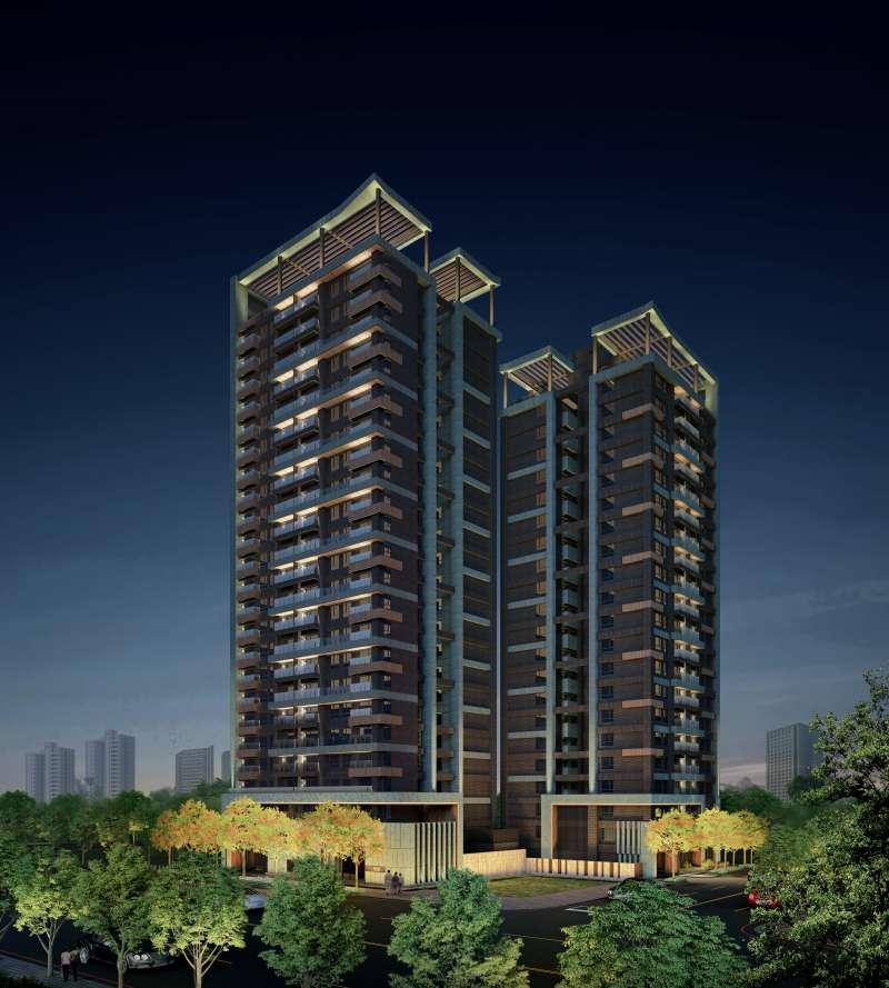 建案打造24層超高樓環景建築。(圖/富比士地產王提供)