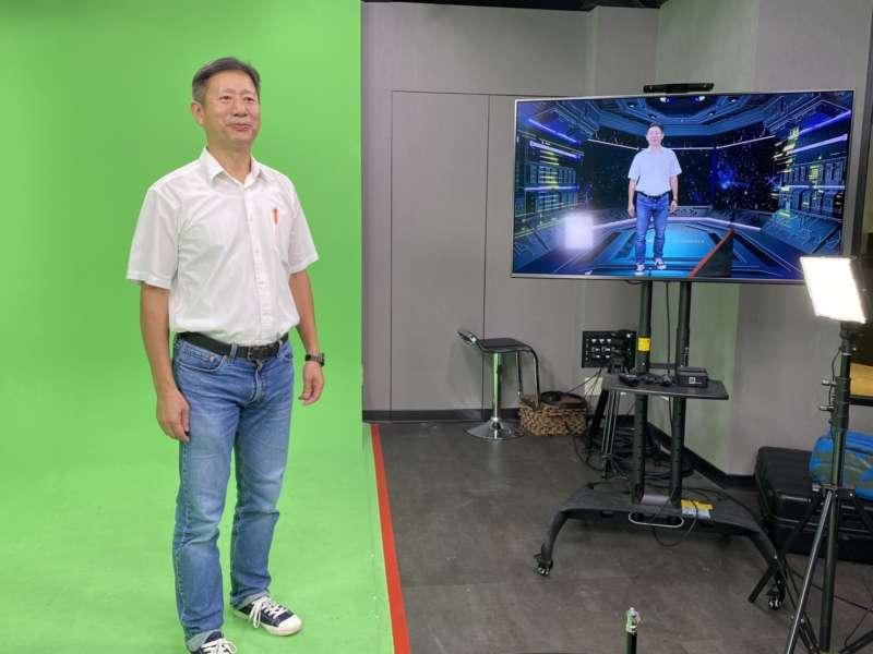20200710-亞洲區塊鏈高峰會特地以虛擬實境「太空站」舉行缐上開幕。(主辦單位提供)
