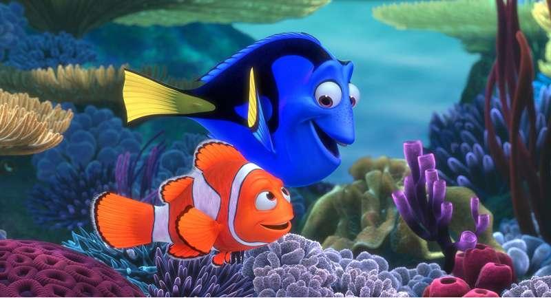 電影《海底總動員》劇照。(圖/imdb)