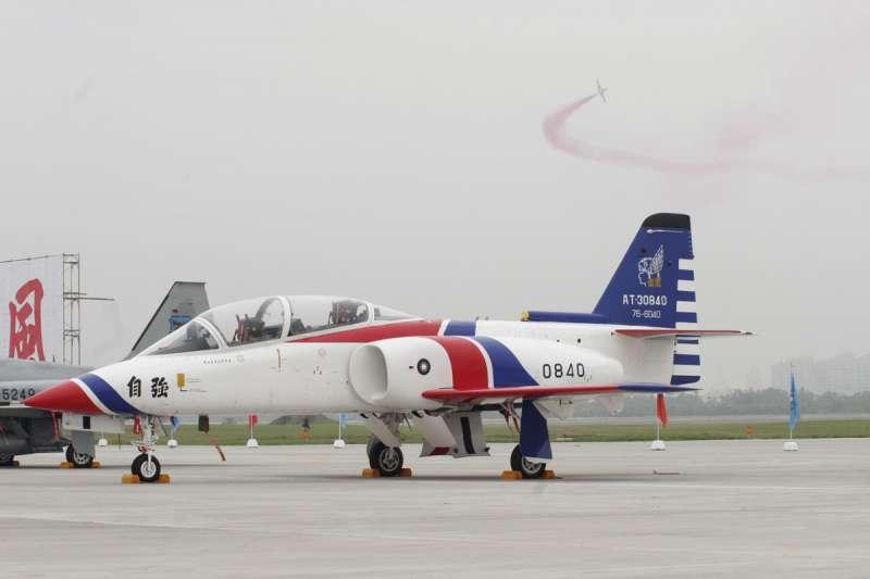 空軍AT-3委託亞航引擎維修,執行率竟低到17%以下。(新新聞資料照)